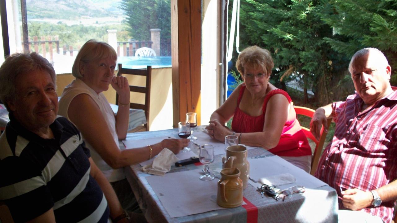 Avec Jeanine &Nicole et Jacques à JAUSIER  Alpes de hautes provence