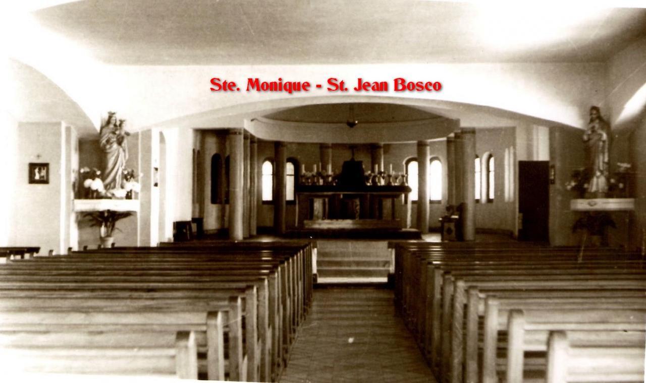 Eglise Ste Monique St Jean Bosco au Ruisseau Rue  polignac