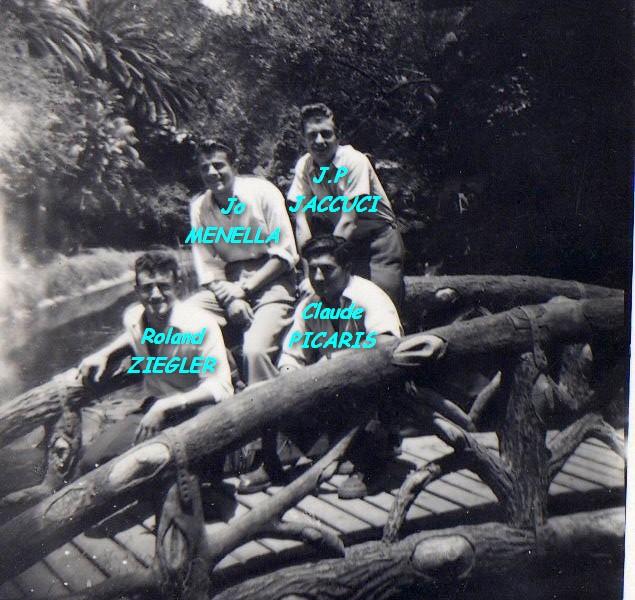 au jardin d'essai Image PICARIS avec les noms