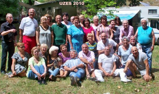 UZES 2010 dimanche 13 Juin