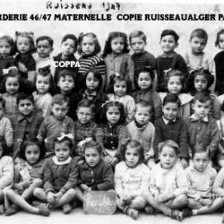 corderie 46/47 Maternelle