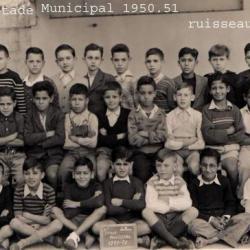 Ecole du stade  municipal  1950/51