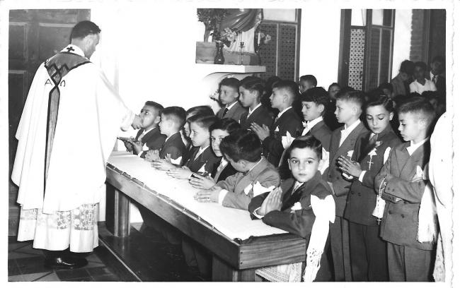 Eglise DON BOSCO au RUISSEAU 1956