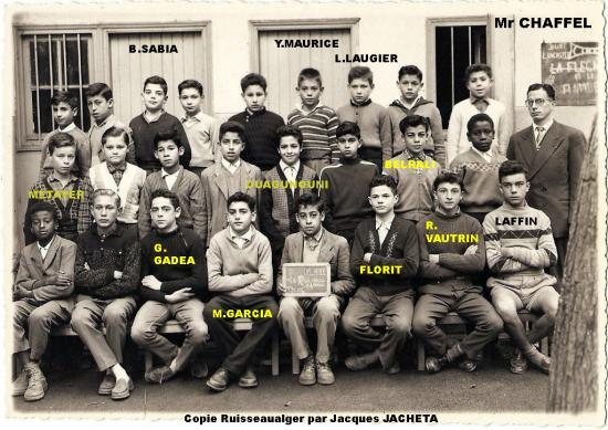 Ecole MIRABEAU 57/58