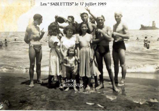 Les sablettes Juillet 49