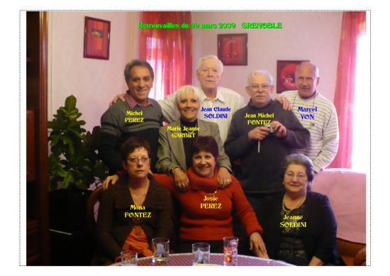 Sympatique reunion d'amis du ruisseau à GRENOBLE