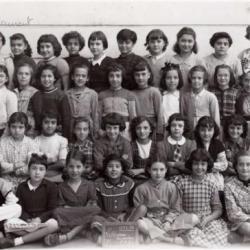 """Ecole du """"Ruisseau année 53/54"""