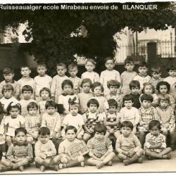 Ecole MIRABEAU 1939