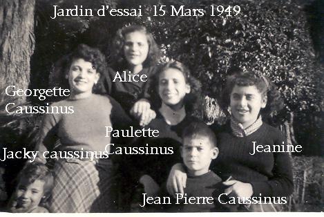 Jardin d'essai 15 mars 1957
