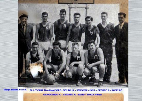 Equipe de la J.U.D.B.