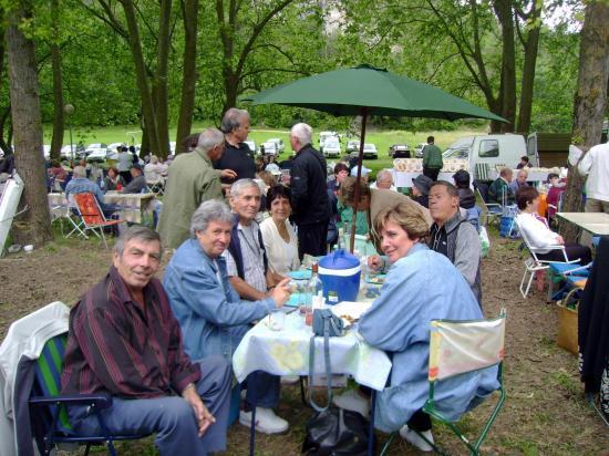 Retrouvailles à UZES 2008