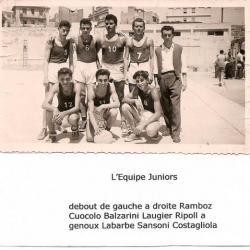 equipe sportive du ruisseau