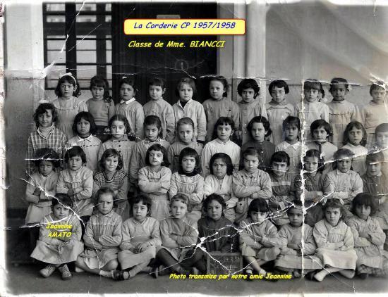 La Corderie C.P 1957/1958