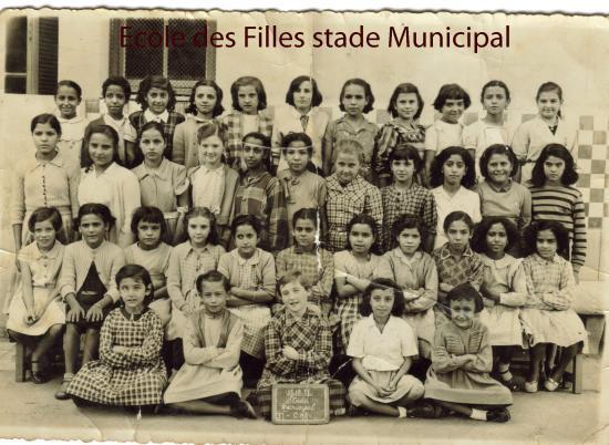 ecole des filles stade municipal par annie SIMONIN