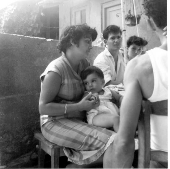 la famille à KOUBA