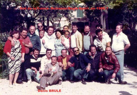 retrouvaille lors de la visite du pere sylvestre ,dans les année 1986 ?