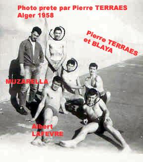 1958 Alger une bande de copains de la regie