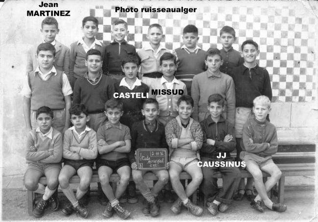 ecole munic. CM  1956/57
